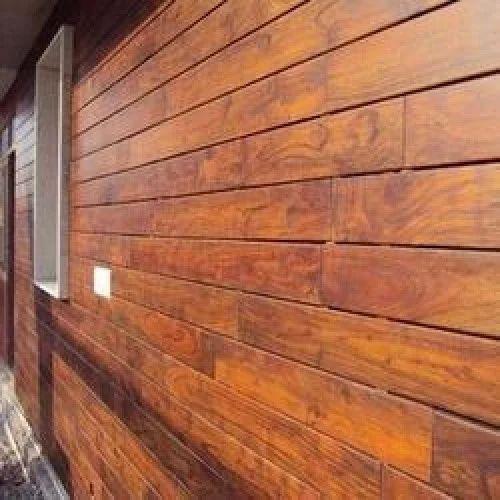Wooden Hpl Cladding एचपीएल क्लैडिंग Modern Decor India