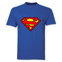 Cotton Sona-superman Printed T-shirt, Size: S-xl
