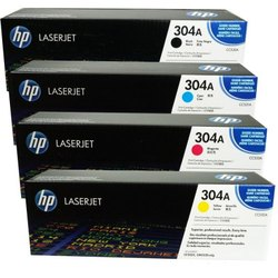 HP 304A Toner Cartridge SET For: CP2025, CM2320 MFP