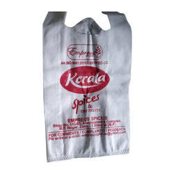 White And Red Non Woven Bag 30gsm, 40gsm, 60gsm GST Included, Capacity: 2 - 5 Kg