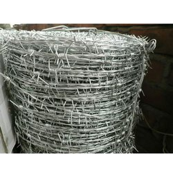 Iron 1.6 to 4mm Galvanized Barbed Wire