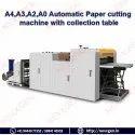 A4,A3,A2,A0 Automatic Paper Cutting Machine Without Belt