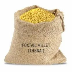 Brown Organic Foxtail Millet (Thinai), Speciality :High in Protein