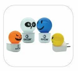 LED Colour Bulb SMILEY