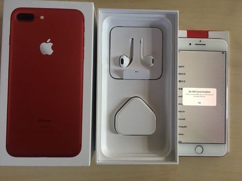 Iphone 7 Plus Red Color 256gb At Rs 20000 Unit