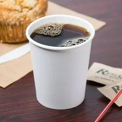 Disposable Plain Paper Tea Cup