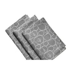 Grey Apple Printed Kitchen Towel