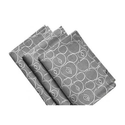 grey apple printed kitchen towel, rs 208.95 /set krishna