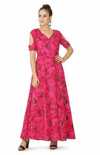 Stylish Cotton Printed Dress