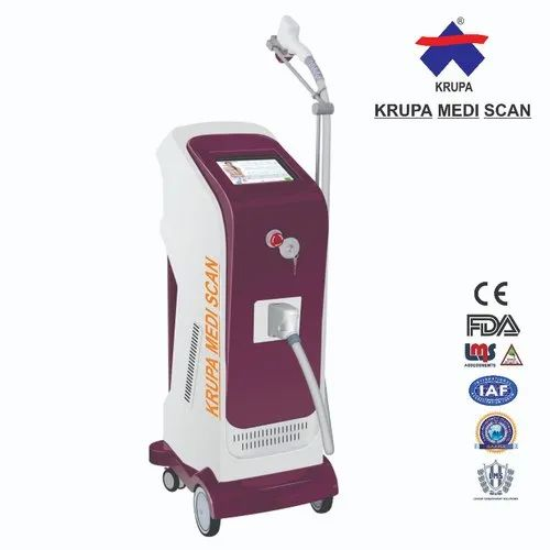 Triple Wavelength 755/808/1064nm Diode Laser