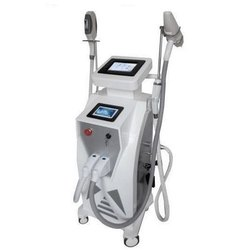 Double Screen 3 In 1 Hair Removal & Tattoo Removal Machine