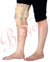 Elastic Knee Support With Hinges