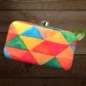 Rectangle Ladies Clutch Bag
