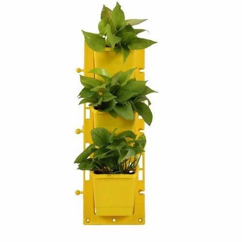 Yellow Vertical Wall Garden Panel Set