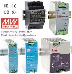 Meanwell Din Rail AC to DC SMPS Power Supply
