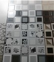 Wall Designer Black Tiles