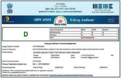 Udyog Aadhaar Registration Services