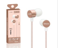 Troops TP-7048 Metallic Earphone With Mic