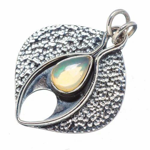 Shree govindam 925 sterling silver ethiopian opal pendant id shree govindam 925 sterling silver ethiopian opal pendant mozeypictures Choice Image