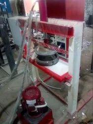 Single Cylinder Hydraulic Plate Making Machine