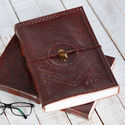 Handmade Leather Journals, Vintage Leather Diaries, Handmade Paper Diaries, Leather Notebooks