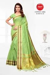 Designer Cotton with Silk Sarees