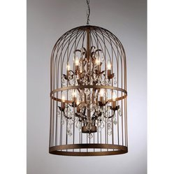 Chandeliers in moradabad uttar pradesh manufacturers suppliers brass cage chandelier aloadofball Choice Image