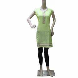 Dress 59Was Straight Sleeveless Casual Kurti