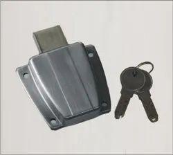Stainless Steel Drawer Lock, 60, Stainless Steel