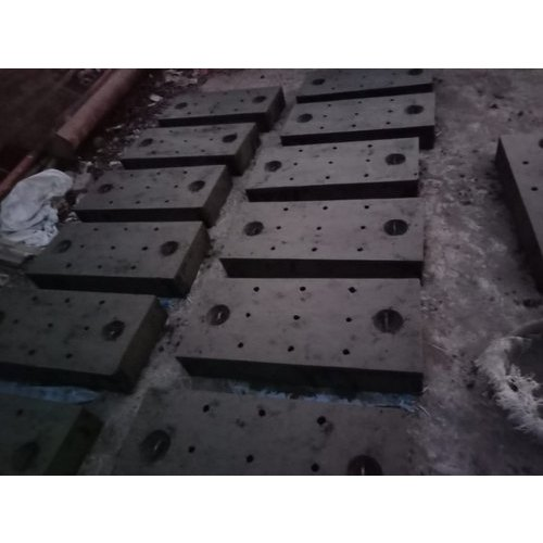 Grey Rectangular Cement Drain Cover