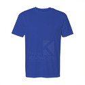 200 GSM Semi Combed Plain Blank Round Neck T Shirt