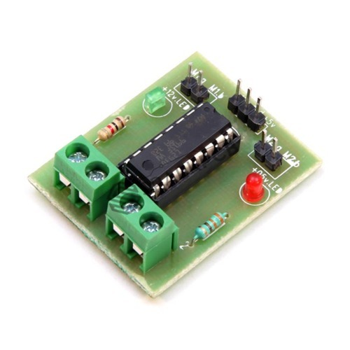 Motor driver board, l293d, rs 150 /piece, nimesh electronics | id.