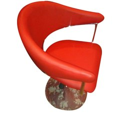 Red Salon Chairs