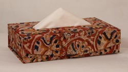 Block Printed Tissue Boxes