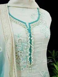Woman Blue Ethnic Wear