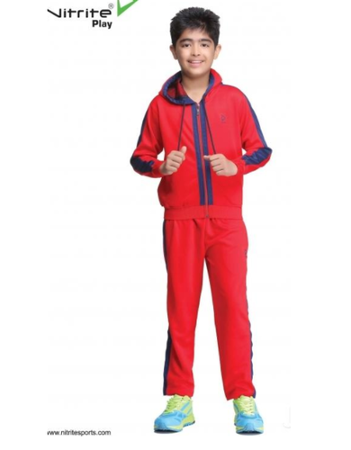 3607459abff Kids Red Cotton Tracksuits