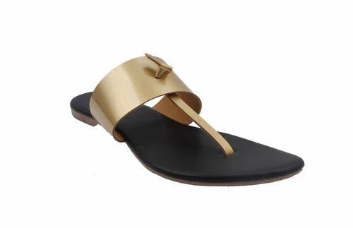 e953bcdb9c257 Black Leather Flats Classy Ladies Slippers Formal Ladies