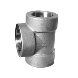 Inconel 625 Forged Tees, for Hydraulic Pipe