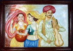 Decorative Rajasthani Mural Painting