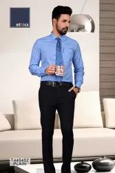 Blue Color Mens Unstitched Uniform Shirt and Pant for Hospital Staff