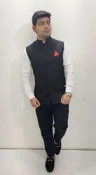Black Designer Modi Jacket