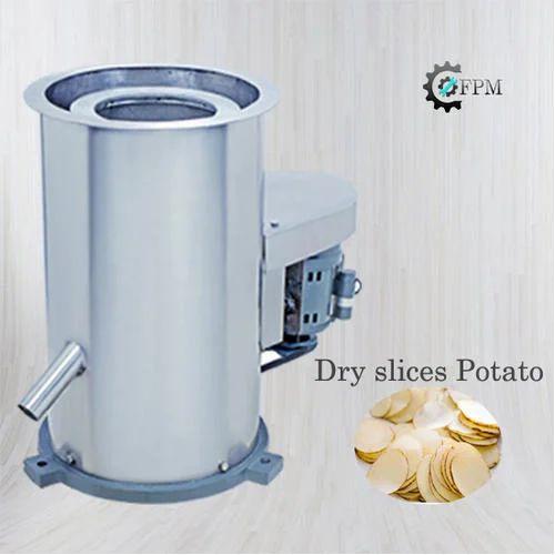 FPM Potato Dryer Machine, Capacity: 150 Kg/Hr