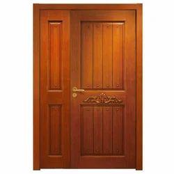 Interior Finished Wooden Door