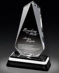 Antique Crystal Trophy