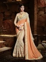 Moti Work Design Saree