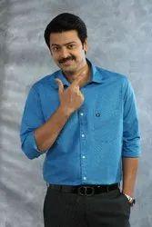 Natpu Garments Regular Wear Mens Shirt Fabric