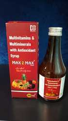 Multivitamins and Multiminerals With Antioxidant Syrup