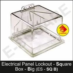 Big Electrical Panel Lockout Square Box