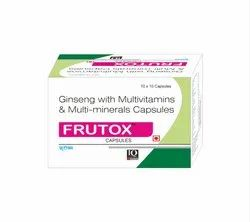Antioxidant,Multi Vitamin,Multimineral Capsule With Ginseng