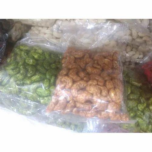 Spicy Taste Fried Cashew, Packaging Size: 250gm